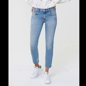 Citizens of Humanty   Elsa Mid Rise Slim Fit Crop